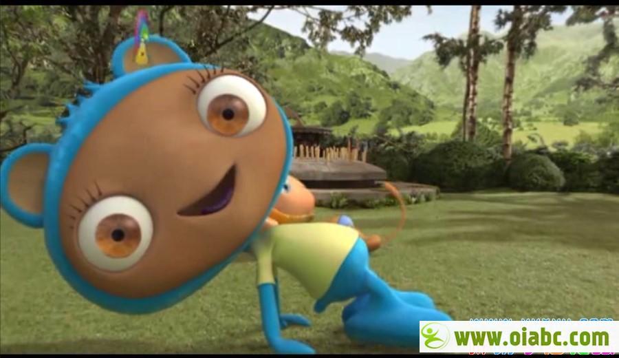 【BBC动画片】布鲁精灵/大眼宝宝 Waybuloo 英语配音 第1-2季61集 百度网盘下载
