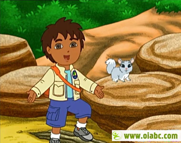 迪亚哥英文版动画片全80集MP4格式下载 Go Diego Go丛林小英雄 朵拉姐妹篇