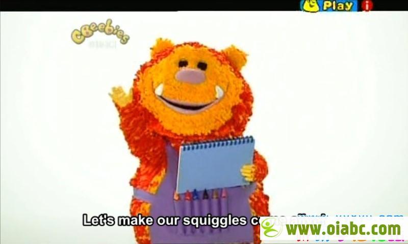 《Get Squiggling》彩色乐园 涂鸦宝宝第123季77集 BBC英语发音srt字幕 百度网盘下载