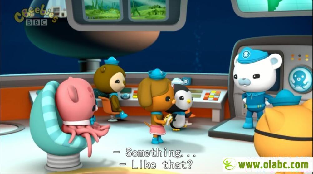 海底小纵队 Octonauts 英语版英文字幕 3-4季28集 儿童动画片 高清720P 百度网盘下载
