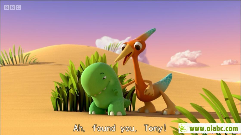 BBC儿童英语动画:好奇小恐龙/快乐小恐龙 Dinopaws 全51集 高清720P 带英文字幕下载
