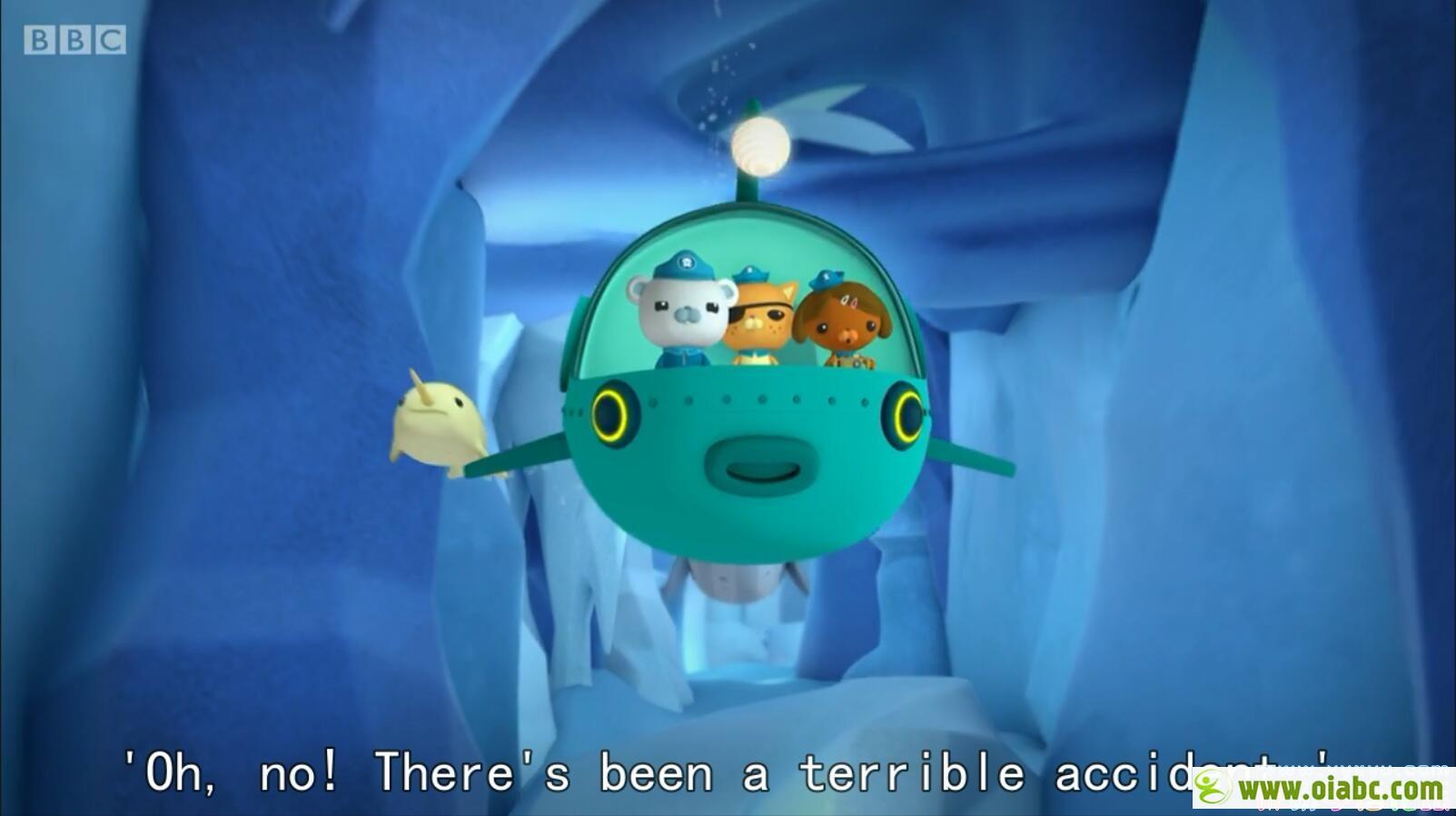 海底小纵队 Octonauts 英语版英文字幕 特别篇8集全 儿童动画片 高清720P