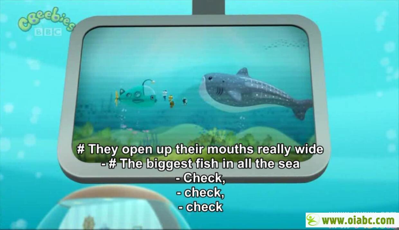 海底小纵队 Octonauts 英语版英文字幕 动物短片儿童动画片 50集 高清