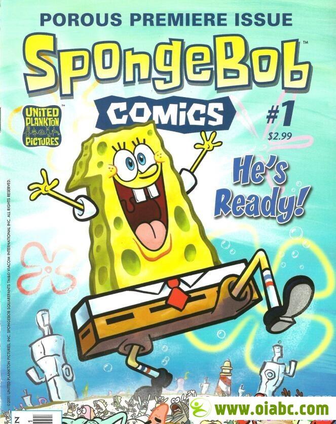 海绵宝宝 SpongeBob Comics 40本漫画书 高清彩本 PDF 可打印