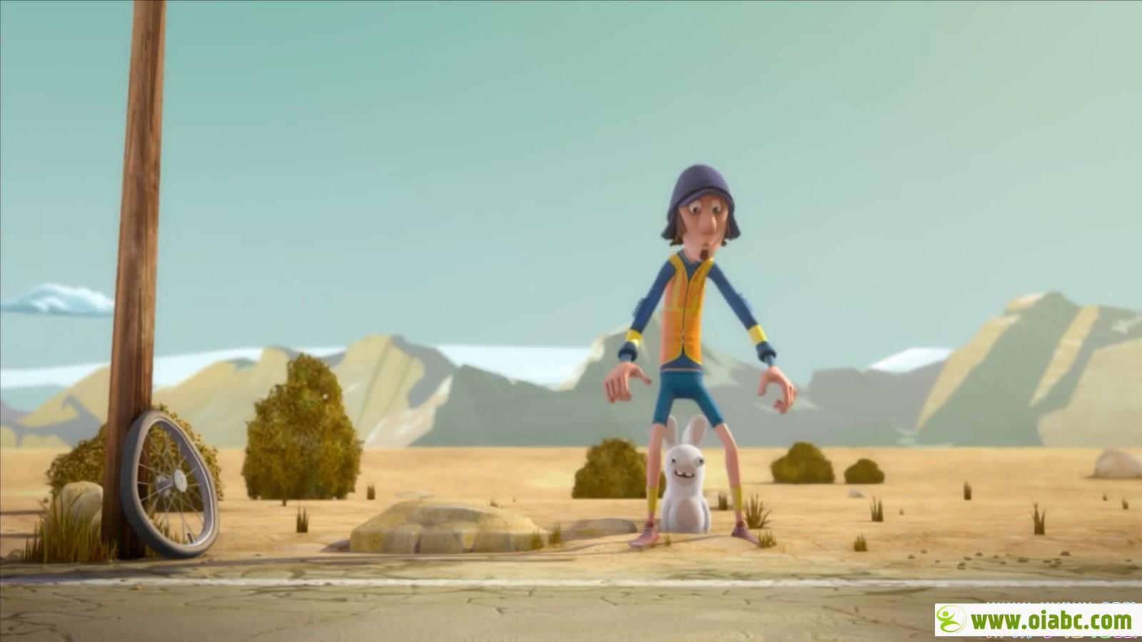《疯狂的兔子》又名疯兔入侵 美国3D动画第一二季全156集 mp4高清720p