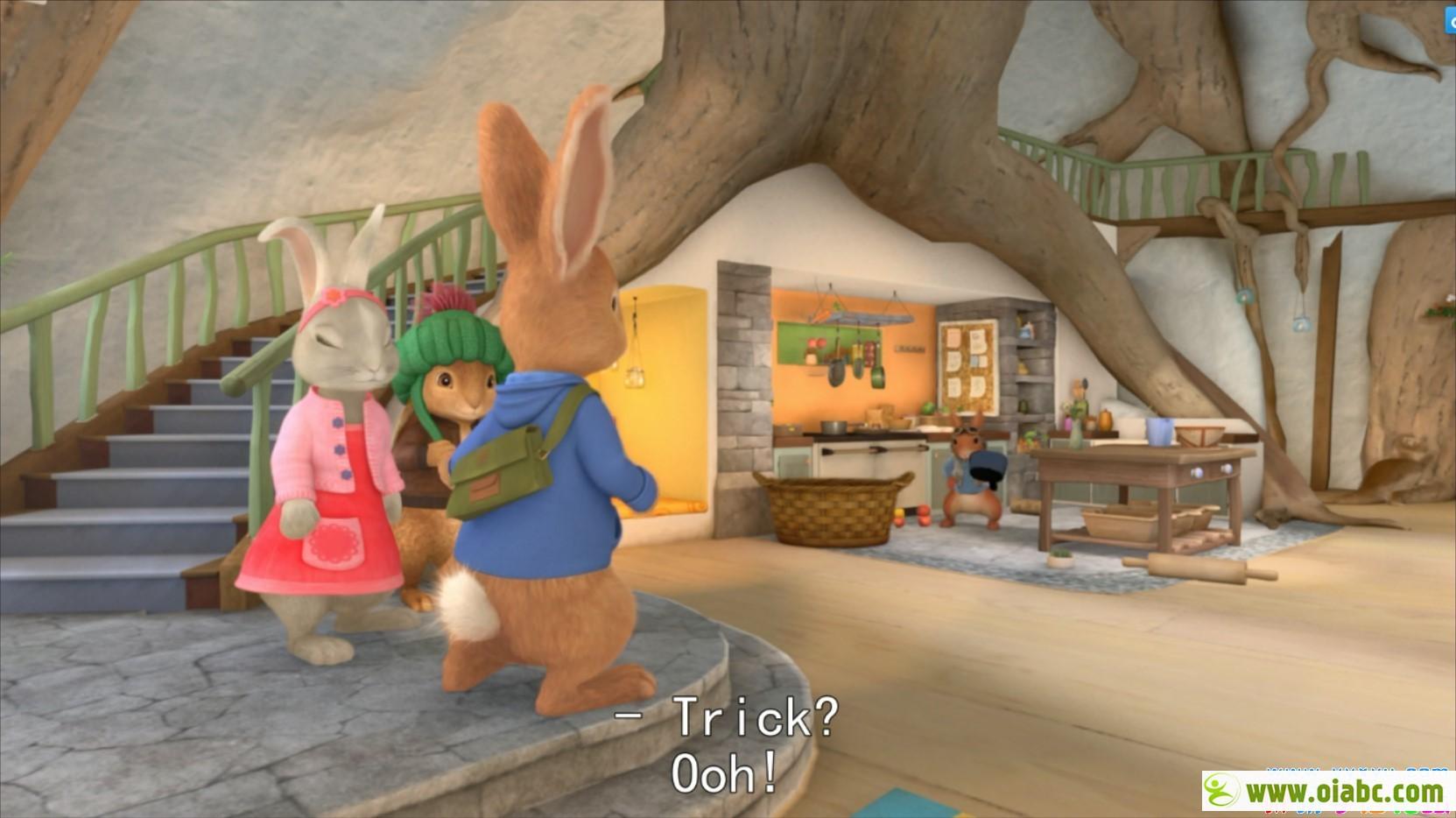 [英语]彼得兔(比得兔) Peter Rabbit 2集 全48集 部分外挂英文字幕 高清720P