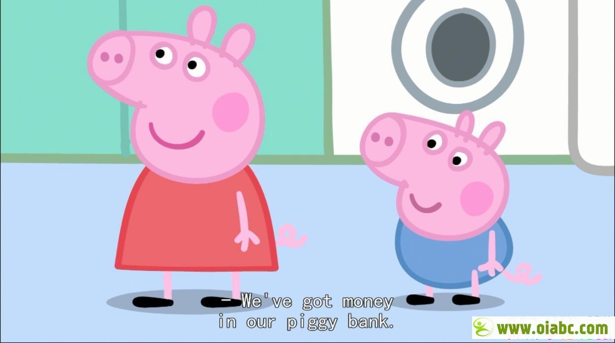 小猪佩奇/粉红猪小妹peppapig第1-5季229集英文版英文