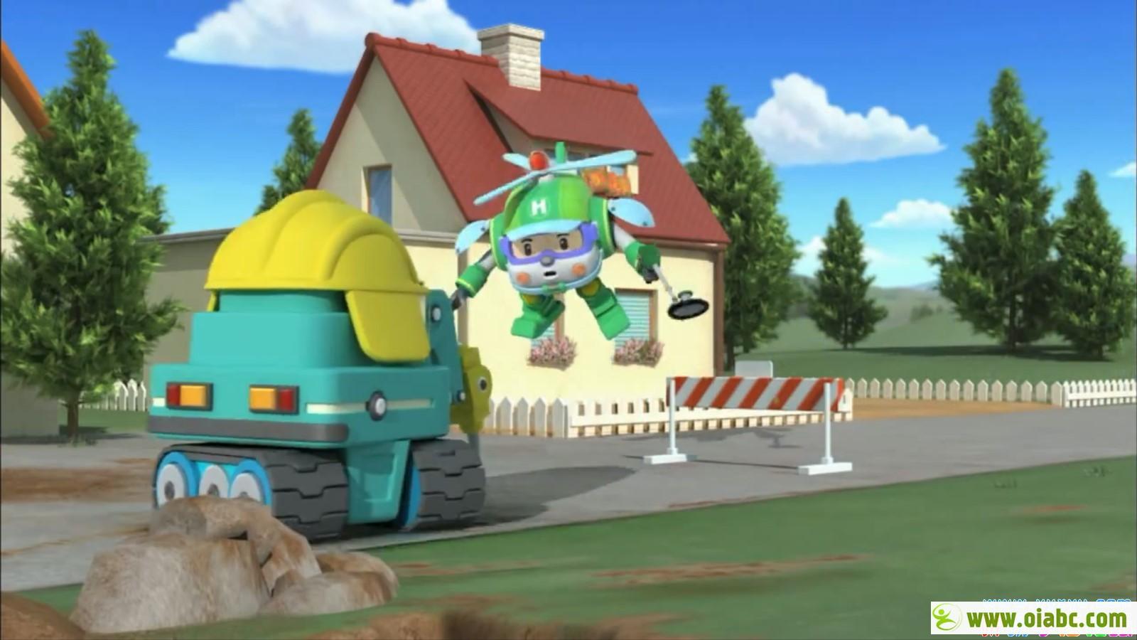 Robocar Poli 变形警车珀利英文原版动画片 第一二季全52集mp4格式720p 百度网盘下载
