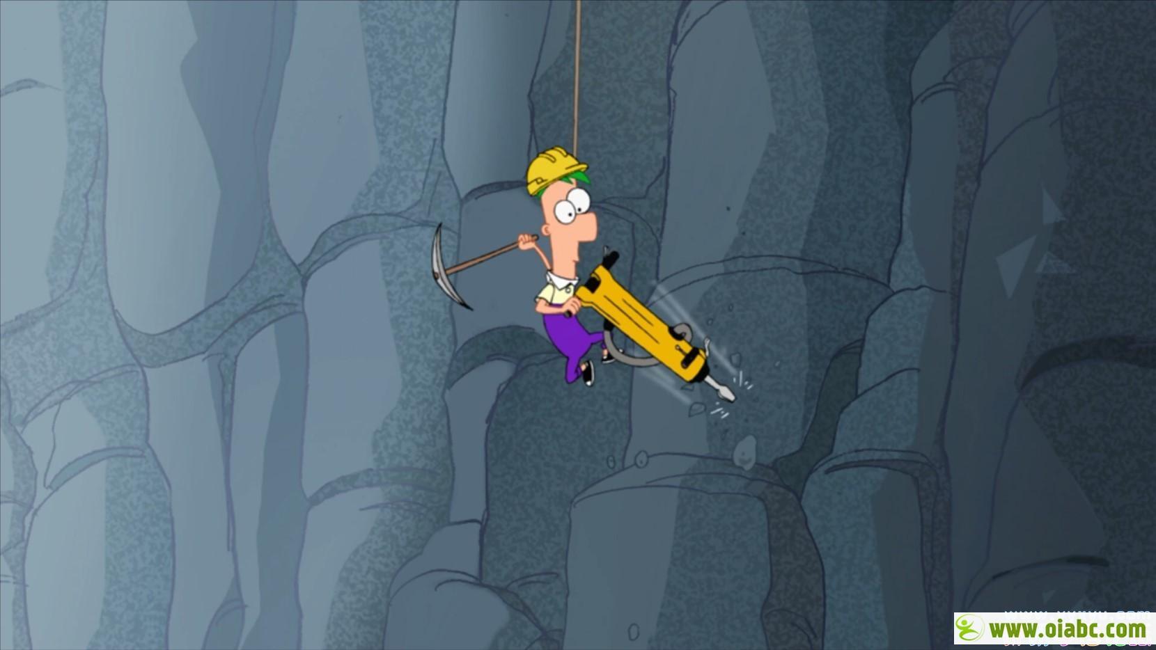 迪斯尼动画飞哥与小佛动画片 Phineas and Ferb 第1-4季 英文版超清1080P