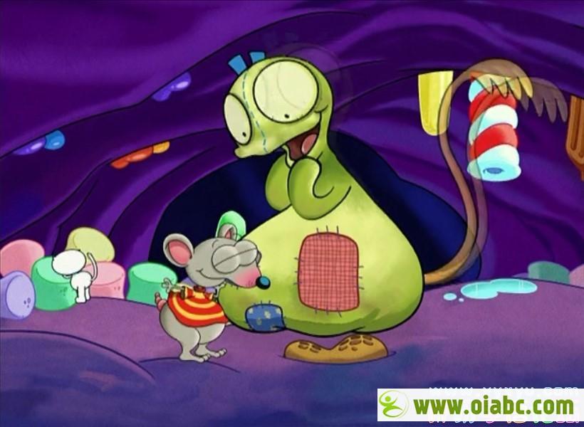 英语原版启蒙动画《Toopy and Binoo》大老鼠和小猫 共9个系列90集百度网盘下载 纯美音