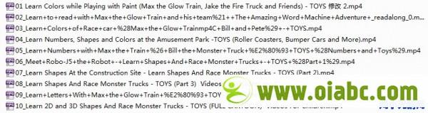 启蒙动画: Max the Glow Train 英文字幕版