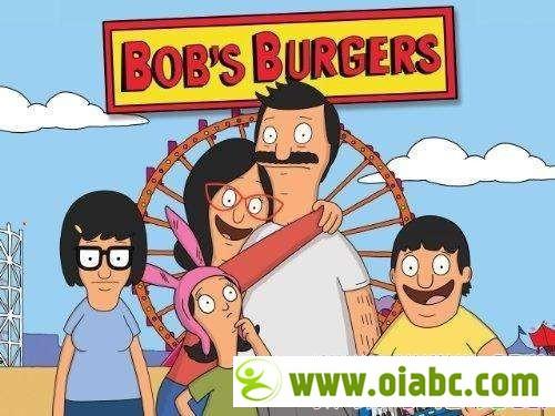 英音儿童动画剧 开心汉堡店 Bobs Burgers 英语发音 中英文双字幕 高清 1-6季