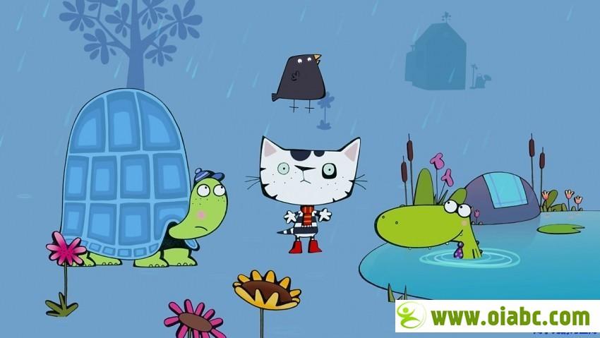BBC动画:小笨猫 Wussywat the Clumsy Cat 24集 高清720p MP4格式