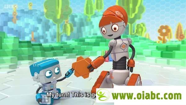 《Spot<wbr>Bots三个机器人》<wbr>2016年最新动画<wbr>BBC儿童英文原版动画mp4高清下载