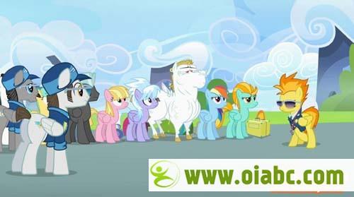 《小马宝莉》又名《我的小马驹My Little Pony》中文版1-6季全143集 MP4格式