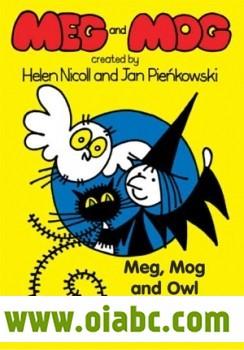 女巫麦格和小猫莫格 Meg and Mog 全集 13集mkv