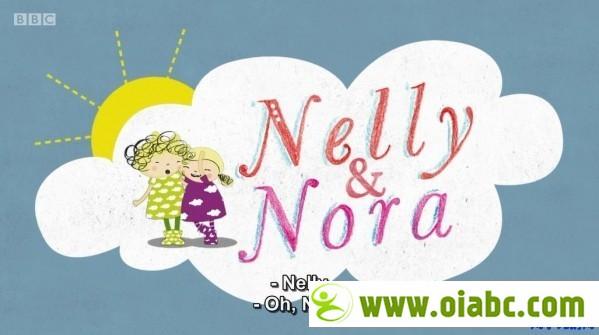 CBeebies 启蒙动画: 妮莉和诺拉 Nelly and Nora 第一季52集 (英文字幕)/ 百度网盘