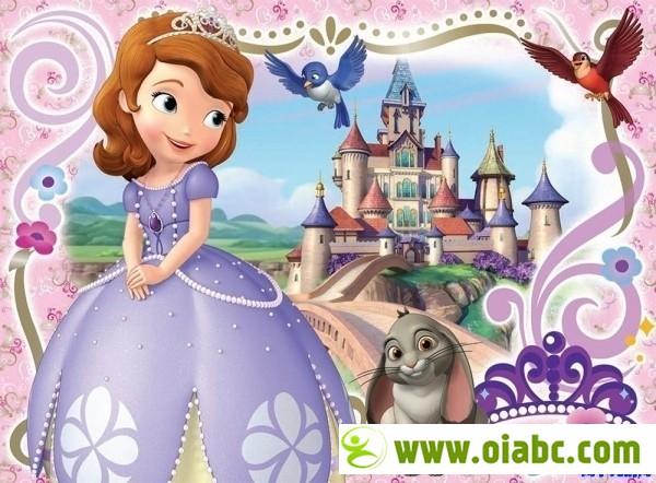 【最全】小公主苏菲亚全4季英版和全3季中文版 Sophia the First 1~4季合辑 剧场版