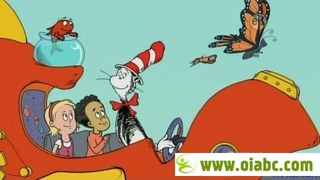 苏斯博士 动画 视频第一季第二季加特别收录2集加【科普绘本】The Cat in the Hat Knows a Lot系列