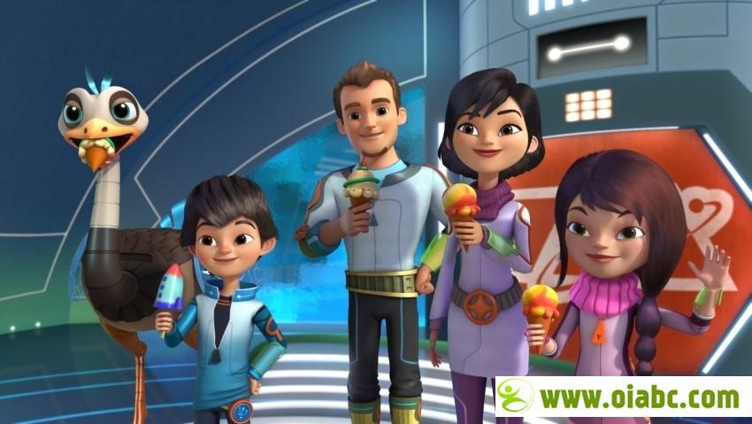 迪斯尼动画: 明日世界的米尔斯 Miles From Tomorrowland 720p高清 第一季全30集