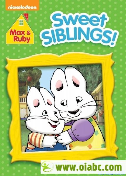 【百度盘】小兔麦斯和露比 Max and Ruby 1-4 季高清全+字幕+精美绘本