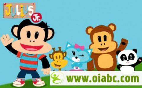 动画片小小大嘴猴第一季 Julius Jr. Season 1 英字 高清 全26集含音频