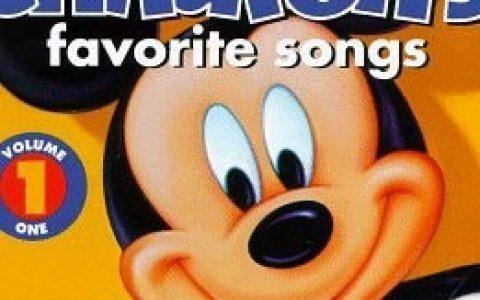 【推荐】迪斯尼最爱儿歌 Disney Children's Favorites Songs 百度网盘下载