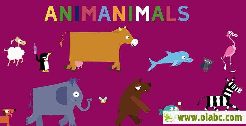 《Animanimals》简洁的画面、童趣的形象、天才的狂想构成了这部50项大奖的作品 百度网盘免费下载