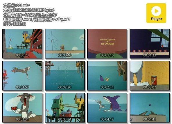猫和老鼠 Tom and Jerry 国语英语日语粤语全194集完整版动画片百度网盘下载