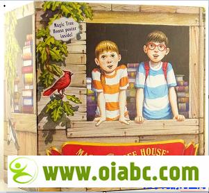 神奇树屋 Magic Tree House 01-55 (MOBI + PDF + MP3) 初级章节书 百度网盘下载