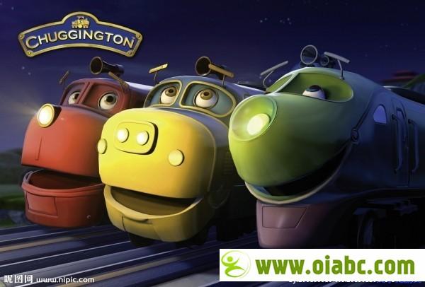 BBC出品 Chuggington(火车宝宝 恰恰特快车)全5季 中文版 英文字幕版