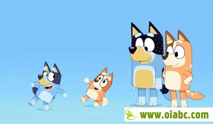 风靡澳洲的动画片《Bluey(布鲁伊)》英语中字 1080p版本,第一季共52集