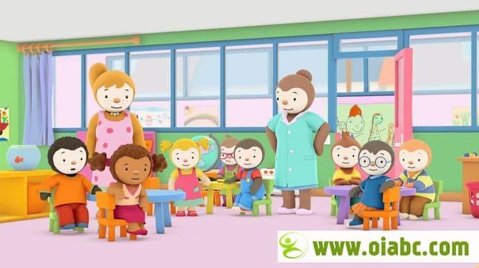 情商培养动画片《查理幼儿园日记 Charley goes to school》全52集 国语版百度网盘免费下载