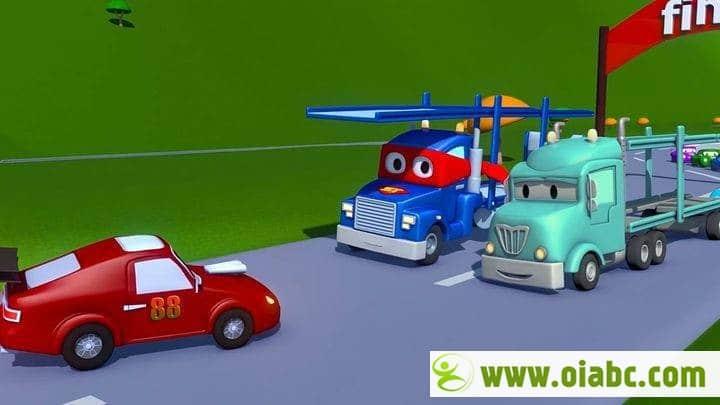 学龄前动画《汽车城之超级变形卡车 Carl the Super Truck in Car City》全77集 国语版百度网盘免费下载