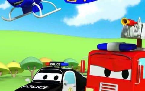 学龄前动画《汽车城之警车和消防车 Car Patrol in Car City》全75集 国语版 汽车城系列百度网盘下载